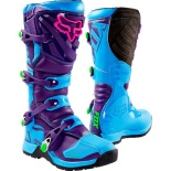 Мотоботы Fox Comp 5 Special Edition Boot Blue