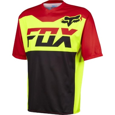 Велоджерси Fox Covert SS Jersey Flow Yellow